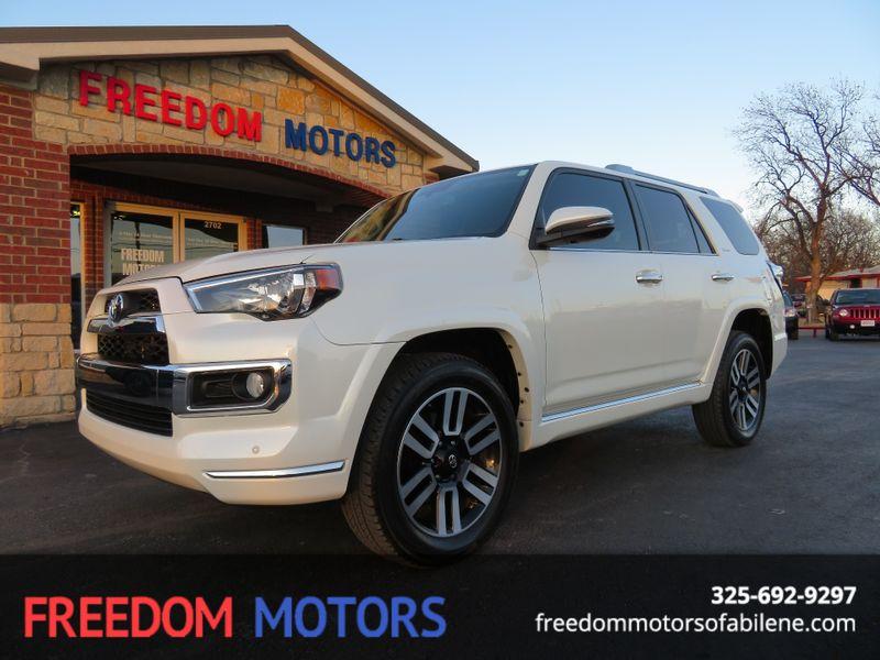 2015 Toyota 4Runner Limited 4x4   Abilene, Texas   Freedom Motors  in Abilene Texas