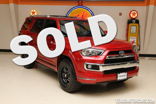 2015 Toyota 4Runner Limited Financing is available with rates as low as 29 wac Get pre-approv