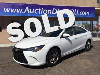 2015 Toyota Camry SE 5 YEAR/60,000 MILE FACTORY POWERTRAIN WARRANTY Mesa, Arizona