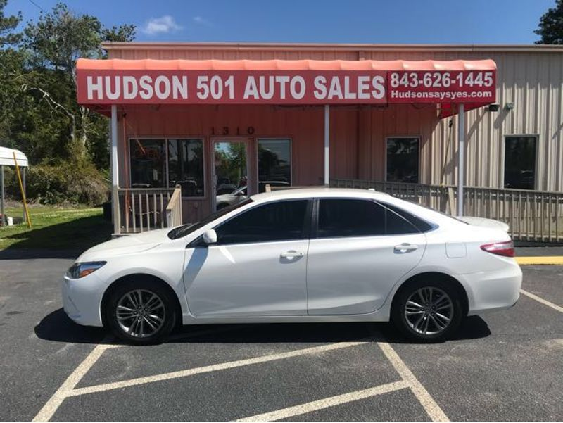 2015 Toyota Camry SE | Myrtle Beach, South Carolina | Hudson Auto Sales in Myrtle Beach South Carolina