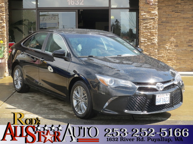 2015 Toyota Camry SE The CARFAX Buy Back Guarantee that comes with this vehicle means that you can