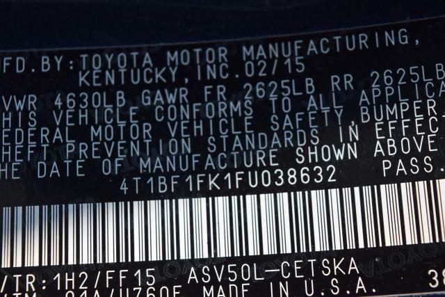 2015 Toyota Camry 4dr Sdn I4 Auto SE (SE) Richmond Hill, New York 17