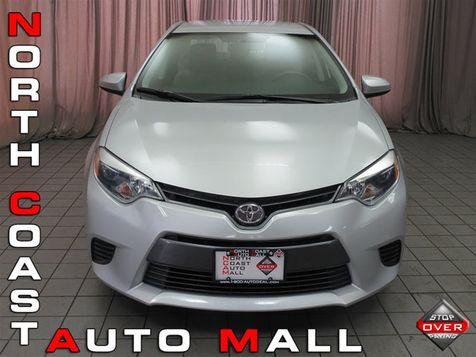 2015 Toyota Corolla 4dr Sedan CVT LE in Akron, OH
