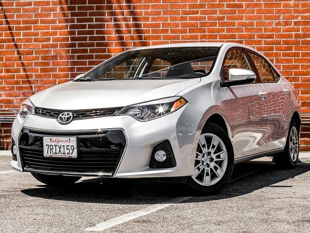 2015 Toyota Corolla S Burbank, CA 0