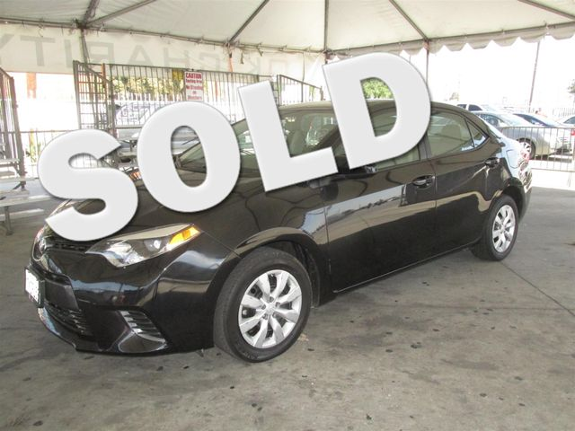 2015 Toyota Corolla LE This particular vehicle has a SALVAGE title Please call or email to check