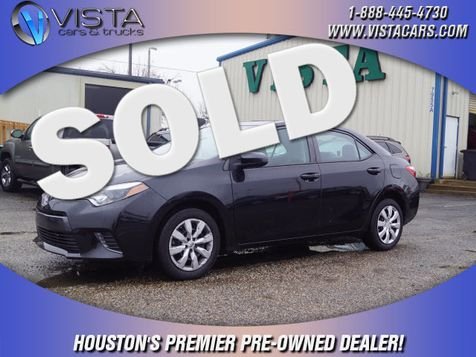 2015 Toyota Corolla LE in Houston, Texas