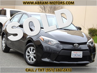 2015 Toyota Corolla in Murrieta CA