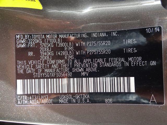 2015 Toyota Sequoia Platinum Corpus Christi, Texas 81