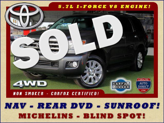 2015 Toyota Sequoia Platinum 4WD - NAV - REAR DVD - SUNROOF! Mooresville , NC 0