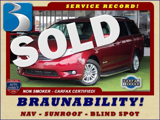 2015 Toyota Sienna XLE FWD - BRAUNABILITY HANDICAP/HANDICAPPED! Mooresville , NC 0