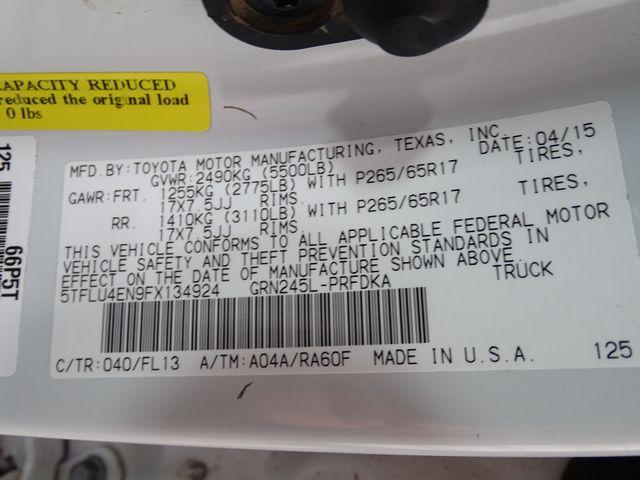 2015 Toyota Tacoma TRD SPORT Corpus Christi, Texas 43