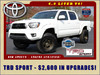 2015 Toyota Tacoma PreRunner Crew Cab RWD TRD SPORT Mooresville , NC