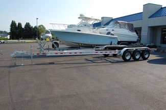 2017 Venture VATB-10625 Boat Trailer Tri-axle East Haven, Connecticut 4