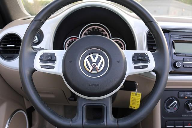 2015 Volkswagen Beetle Convertible 1.8T Mooresville, North Carolina 27
