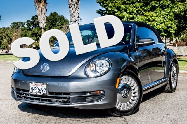 2015 Volkswagen Beetle Convertible 1.8T w/Tech - AUTO - 26K MILES - HTD STS Reseda, CA 0