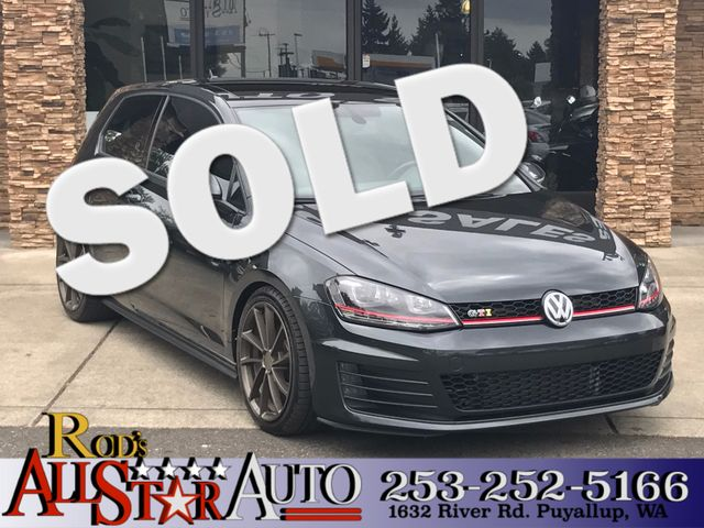 2015 Volkswagen Golf GTI SE This vehicle is a CarFax certified one-owner used car Pre-owned vehic