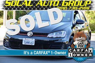 2015 Volkswagen Golf GTI Autobahn - NAVI - LTHR - 39K MILES Reseda, CA