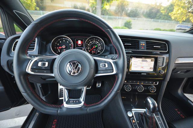 2015 Volkswagen Golf GTI Autobahn - NAVI - LTHR - 39K MILES Reseda, CA 2