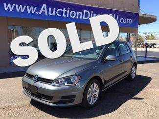 2015 Volkswagen Golf TDI S FULL MANUFACTURER WARRANTY Mesa, Arizona