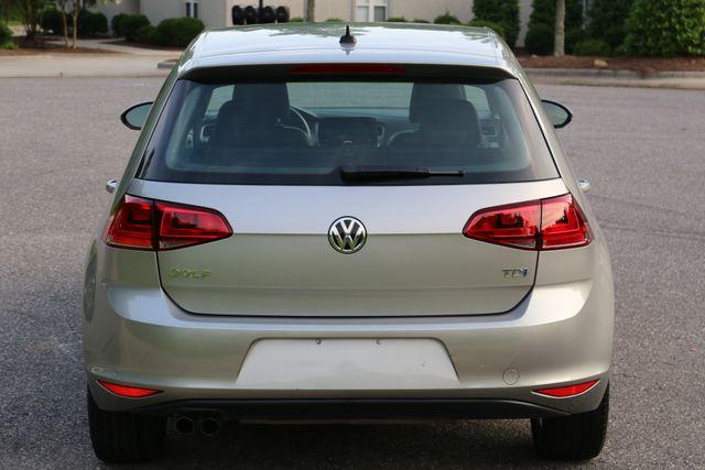 2015 Volkswagen Golf TDI S Mooresville, North Carolina 4