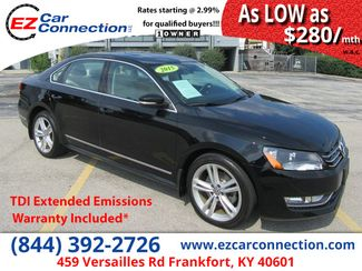 2015 Volkswagen Passat 2.0L TDI SEL Premium | Frankfort, KY | Ez Car Connection-Frankfort in Frankfort KY