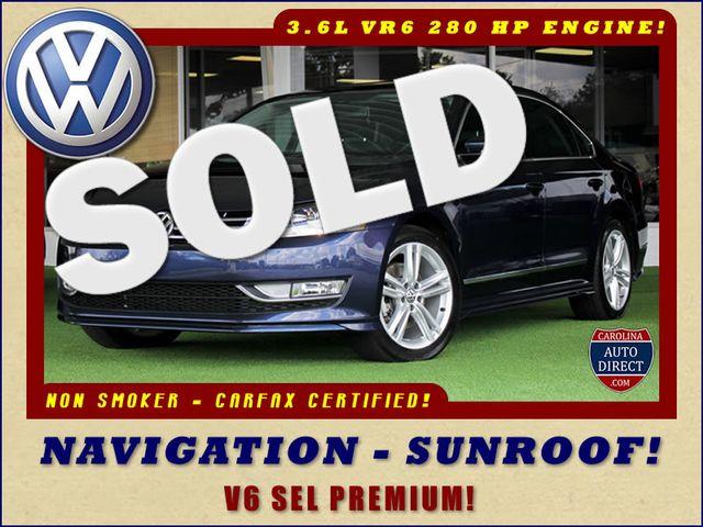2015 Volkswagen Passat 3.6L V6 SEL Premium - NAVIGATION - SUNROOF! Mooresville , NC 0