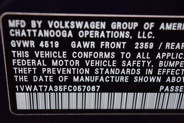 2015 Volkswagen Passat 1.8T Wolfsburg Ed Richmond Hill, New York 32