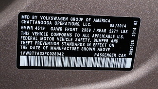 2015 Volkswagen Passat 1.8T SE Virginia Beach, Virginia 34