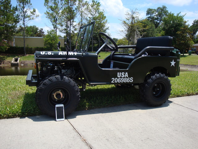 2016 Zhejiang Jeep Replica 1/4 Daytona Beach, FL 3
