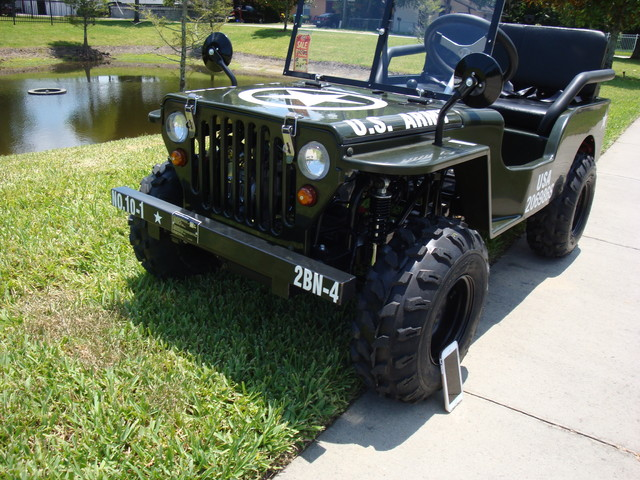 2016 Zhejiang Jeep Replica 1/4 Daytona Beach, FL 4