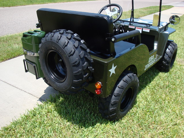 2016 Zhejiang Jeep Replica 1/4 Daytona Beach, FL 6