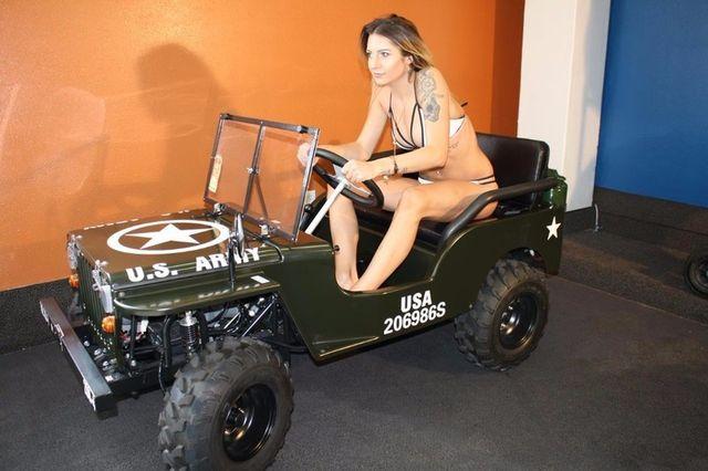 2016 Zhejiang Jeep Replica 1/4 Daytona Beach, FL 1