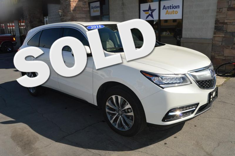 2016 Acura MDX TECHNOLOGY | Bountiful, UT | Antion Auto in Bountiful UT