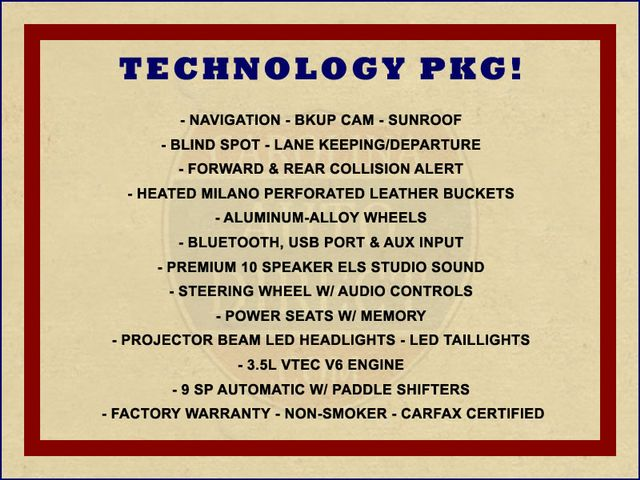 2016 Acura TLX V6 Tech - NAVIGATION - SUNROOF - BLIND SPOT! Mooresville , NC 1