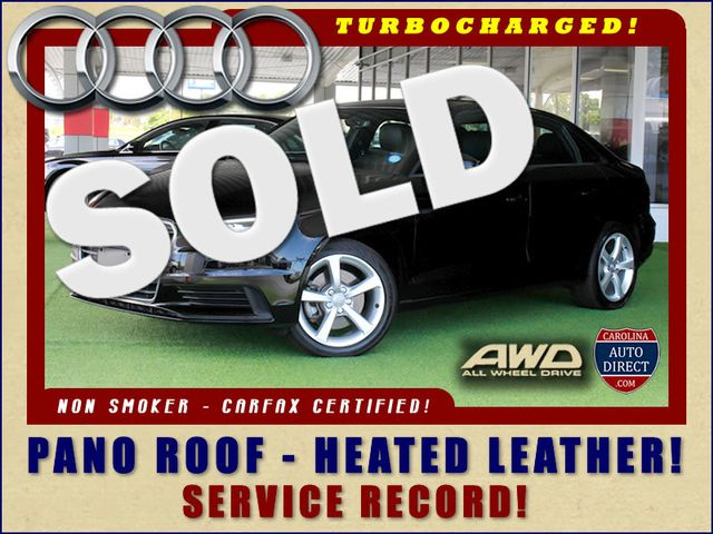 2016 Audi A3 Sedan 2.0T Premium QUATTRO AWD - TURBO - HEATED LEATHER! Mooresville , NC 0