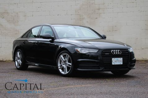 2016 Audi A6 Quattro AWD S-Line Sport Package w/Navigation Technology Pkg, Cold Weather Pkg and 19