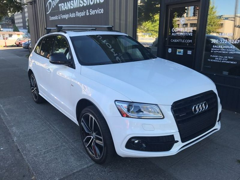2016 Audi Q5 30T 272 HP V6 Quattro S-Line Premium Plus Rear Camera Navigation Bang  Olufsen Sound 21  city Washington  Complete Automotive  in Seattle, Washington