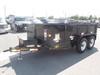 2016 Big Tex 10LX Tandem Axle Low Profile Extra Wide Dump Harlingen, TX