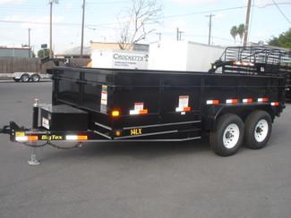 2017 Big Tex 14LX Tandem Axle Low Profile Extra Wide Dump Harlingen, TX