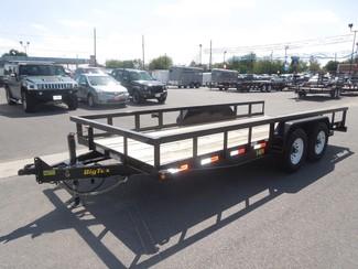 2016 Big Tex 14PI 18FT Heavy Duty Pipe Tandem Axle Harlingen, TX