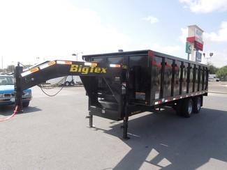 2017 Big Tex 25DU  Tandem Dual Gooseneck Dump Harlingen, TX