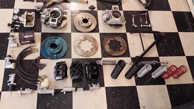 2016 Birkin Caterham Suspension Parts SUSPENSION PARTS WISHBONES ETC Arlington, Texas 3