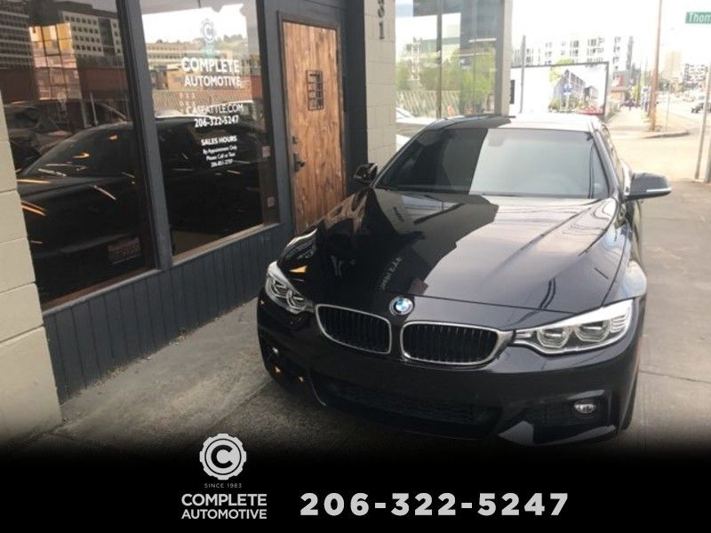 2016 BMW 428i Gran Coupe 4-Door M Sport Driving Assistance Lighting Premium Packages Save Over 22000   city Washington  Complete Automotive  in Seattle, Washington