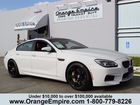 2016 BMW M6 Gran Coupe   in Orange, CA