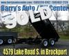 """2016 Bri-Mar 72"""" W x 10' L DT610LP-LE-10 Brockport, NY"""