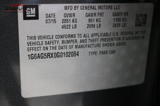 2016 Cadillac ATS Sedan Standard AWD Merrillville, Indiana 45