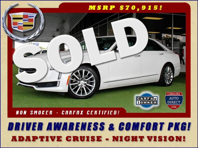 2016 Cadillac CT6 Sedan Premium Luxury AWD - $70,915 MSRP! Mooresville , NC 0