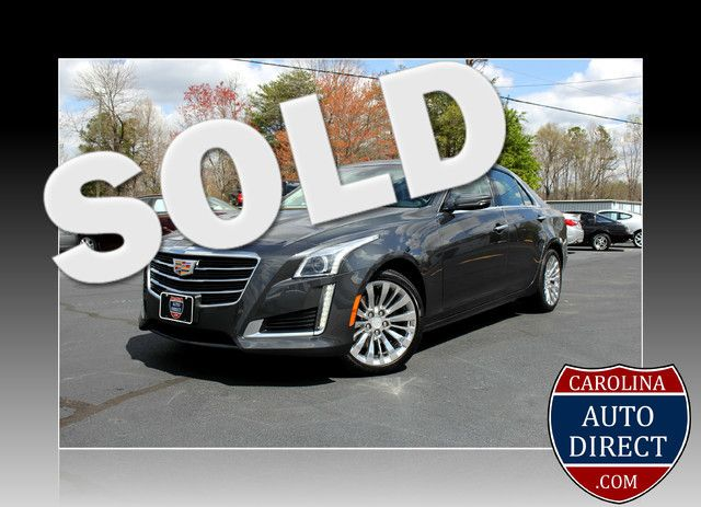 2016 Cadillac CTS Sedan Luxury Collection AWD - NAVIGATION - TURBO! Mooresville , NC 0