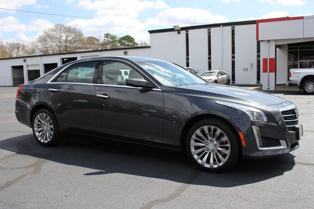 2016 Cadillac CTS Sedan Luxury Collection AWD - NAVIGATION - TURBO! Mooresville , NC 16