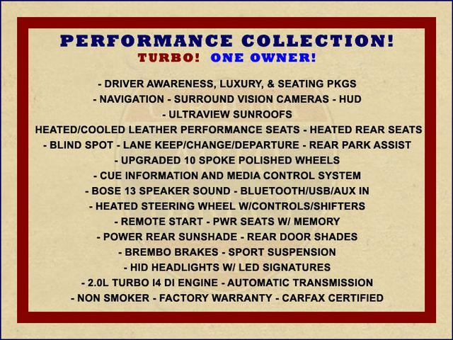 2016 Cadillac CTS Sedan Performance Collection AWD - NAV - SUNROOFS! Mooresville , NC 1